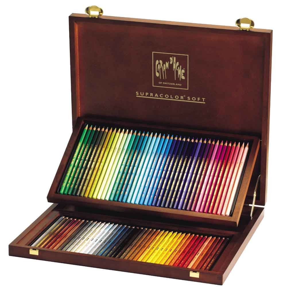 Caran D'ache Supracolor, Wooden Box 80 Pencil, s (3888.480) by Caran d'Ache