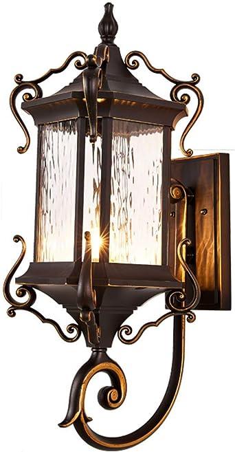 Lámpara de pared de decoración del hogar Lámpara de pared exterior ...