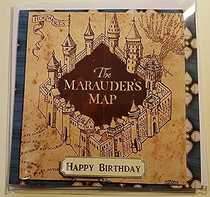 Hecho a mano de Harry Potter - Tarjeta de cumpleaños del ...