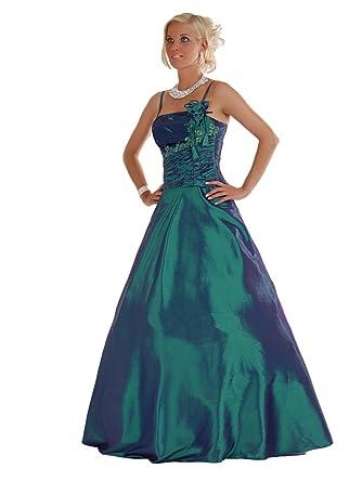 Austen 1001 Tanja Abendkleid 2 Teilig In Petrol Gr44 165 Cm