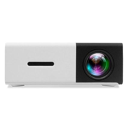 Timstore DP300 - Mini proyector portátil LED cine en casa con ...