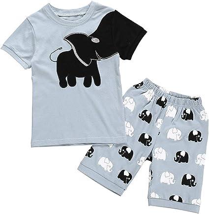 Janly - Conjunto de ropa de bebé para niña, pijamas, dibujos ...