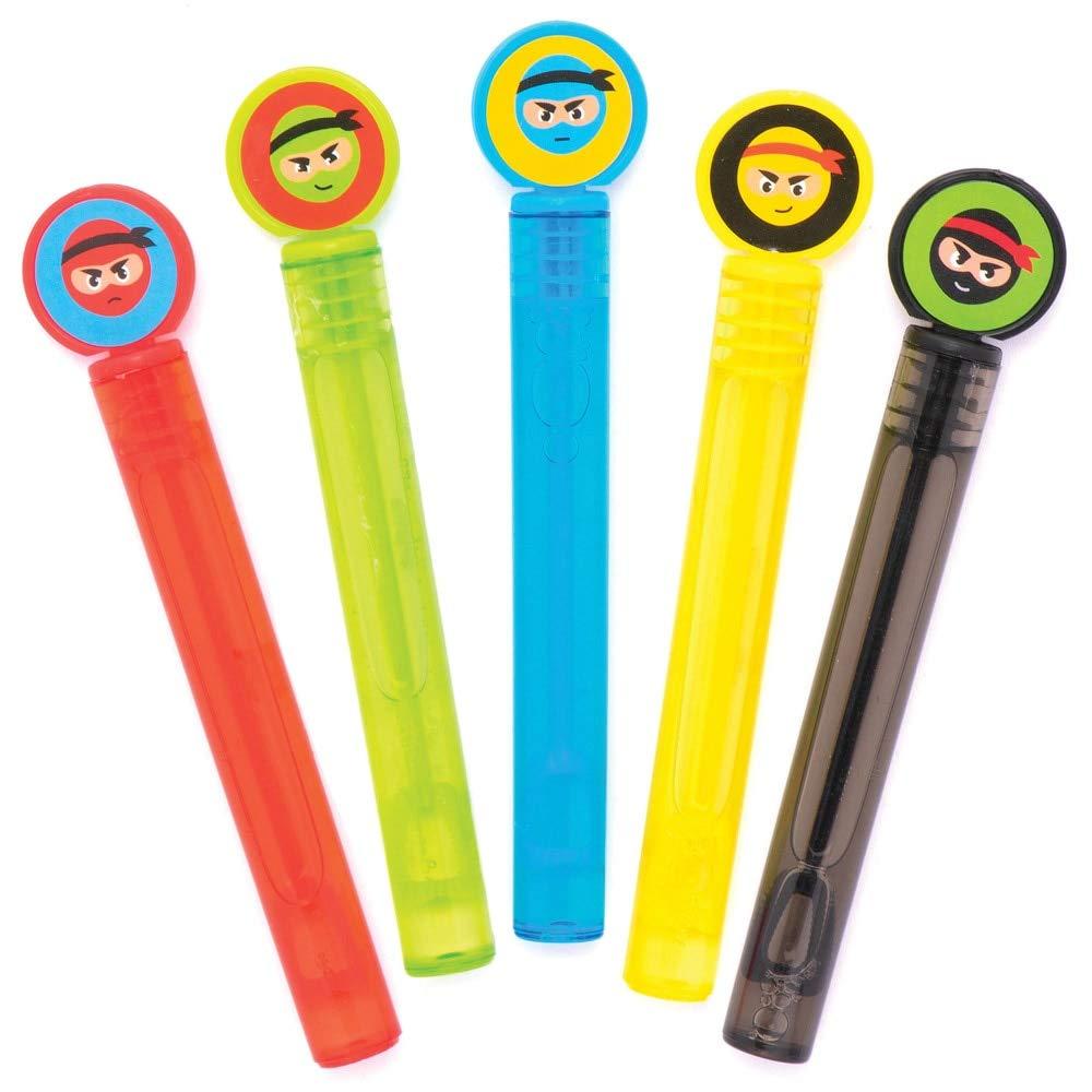 """f/ür Kinder Partytaschen und kleines Spielzeug f/ür Kinder Baker Ross Seifenblasen /""""Ninja/"""" zum Anfassen 10 St/ück"""