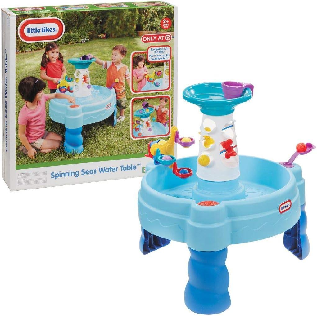 Little Tikes Spinning Seas (Mares giratorios) - Mesa de juegos de agua.: Amazon.es: Juguetes y juegos
