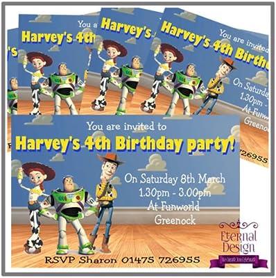 Eternal diseño 10 x BabySmiles - Invitaciones de fiesta de ...