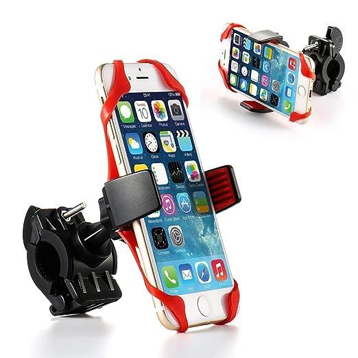 8 opinioni per Porta telefono universale da bicicletta, motocicletta per smartphone con