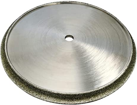 Diamond Profile Wheel For Granite Marble Travertine And Porcelain For Tile Saws 8 Diameter Shape B 3 8 Radius Demi Bullnose Amazon Com