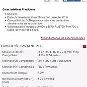 LG AN-WF100 - Adaptador de red USB, negro: Amazon.es: Electrónica