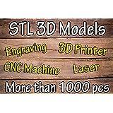 3D model STL for artcam, cnc, 3D printer Artcam, Aspire,Mach3 Compilation more than 1,000 models