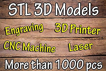 Amazon.com: Modelo 3d Stl para artcam, CNC, 3d impresora ...