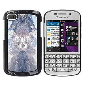 TopCaseStore / la caja del caucho duro de la cubierta de protección de la piel - Diamond Sky Universe Sky - BlackBerry Q10