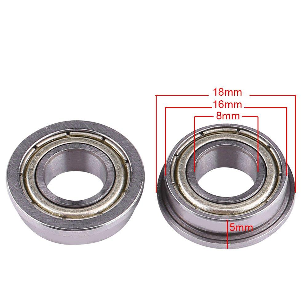 10Pcs F684ZZ Roulements /à Billes Miniatures /à Double Blindage Miniature 4x9x4mm Pour Mod/èle dImprimante 3D Haute R/ésistance