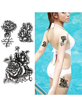 ASTTY Etiqueta Engomada del Tatuaje Impermeable Etiqueta Engomada ...