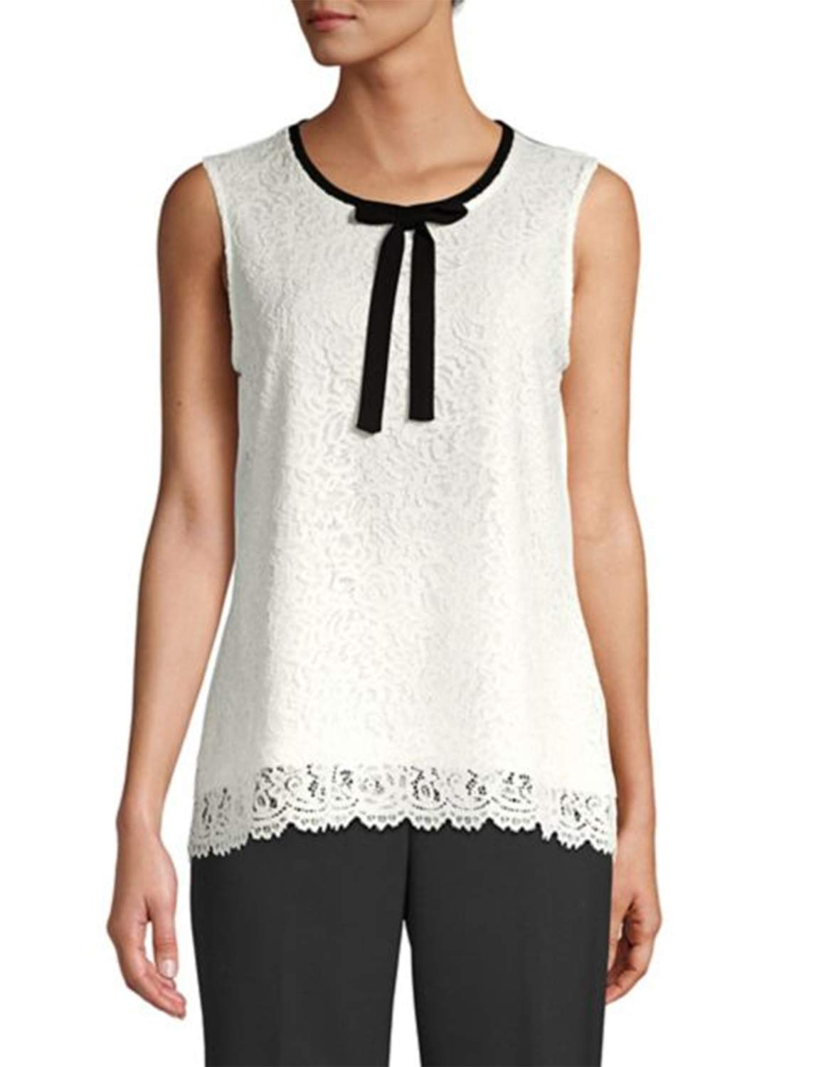 97e112519 85% discount on Blooming Jelly Womens Lace Top Tie Front Tops ...