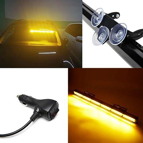 Amazon.com: SmallFatW - Barra de luz LED estroboscópica para ...