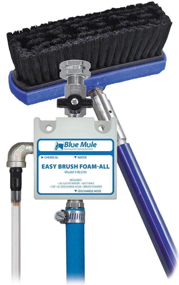 Blue Mule Easy Brush Foam-All: Wall-Mounted Soft Bristle Brush Foamer