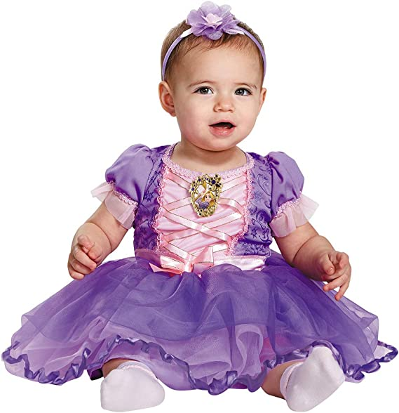 c440cb0b4 Disguise Disney Princess Rapunzel Theme Fancy Dress Toddler Halloween  Costume, Toddler (12-18M