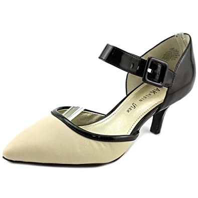 Womens Shoes Anne Klein 7Faithful Black/Ivory Synthetic