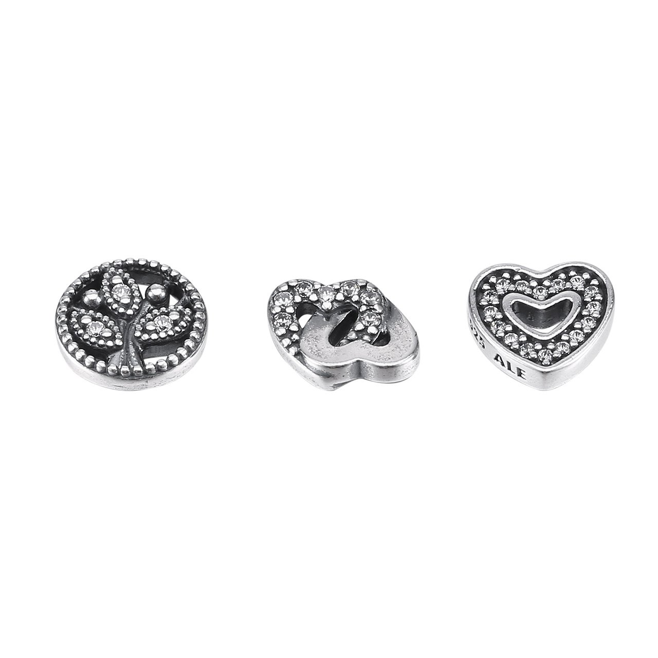 0d4a2a582 Amazon.com: Pandora Women's Love and Family Petites Locket Charm -  792022CZ: Jewelry