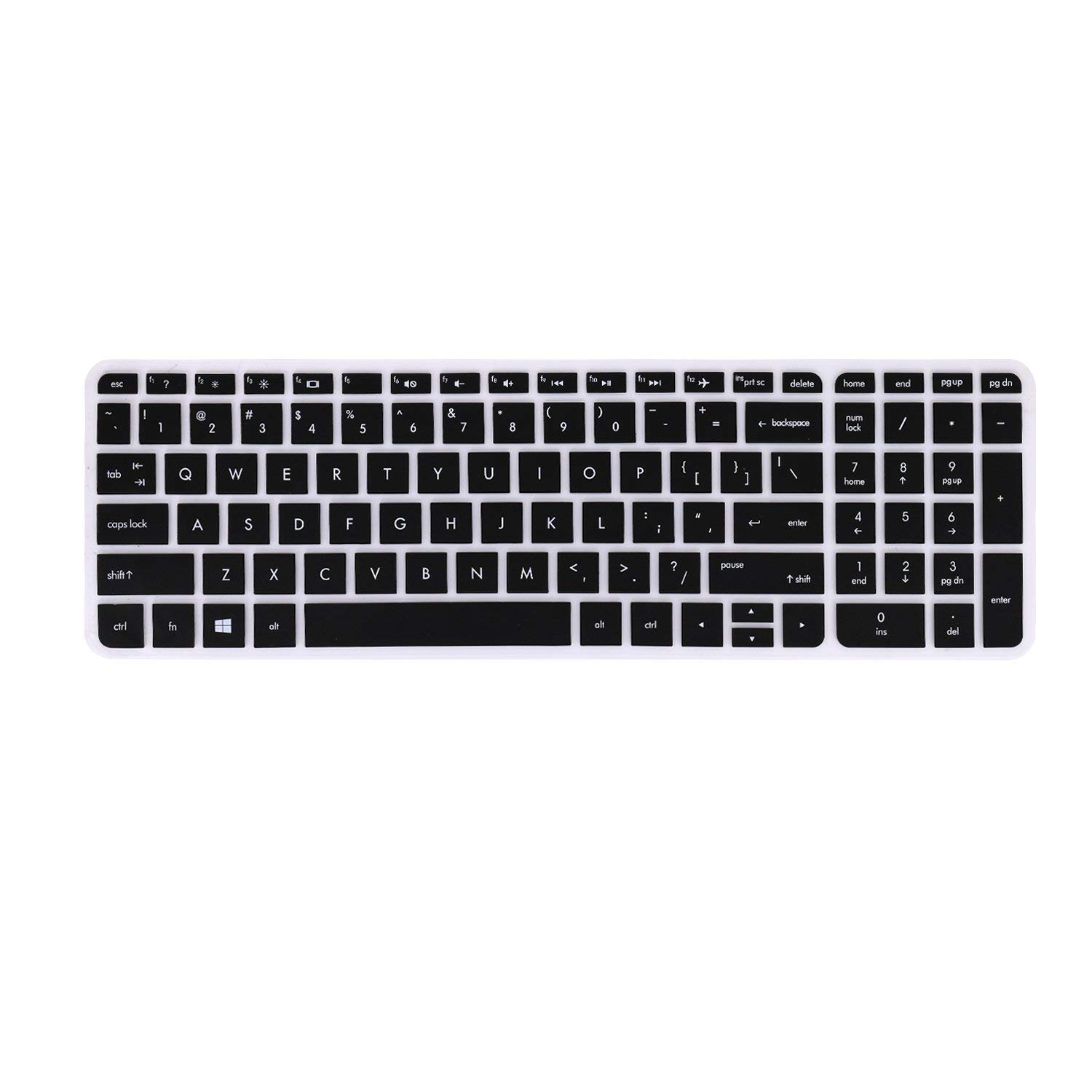 FORITO Keyboard Cover Compatible HP Pavilion 17 17t /HP OMEN 17 /HP 17 3  Business Gaming Laptop, HP Envy 17 M7 /HP Envy 17 17t /HP Pavilion 15 6