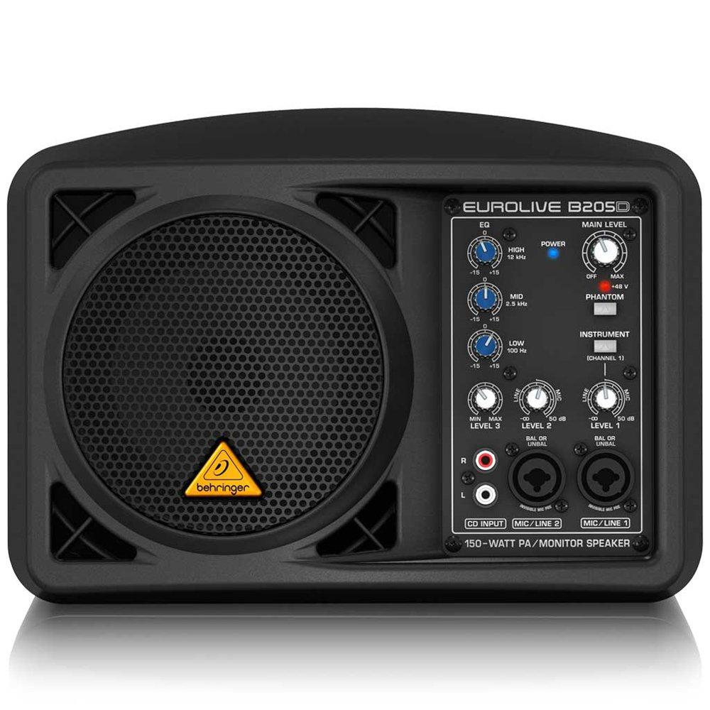 Behringer Eurolive B205D Ultra-Compact 150-Watt PA/Monitor Speaker System by Behringer (Image #5)