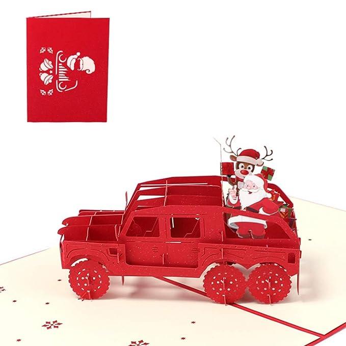 Nankod Grusskarte 3d Pop Up Handmade Geburtstag Weihnachten