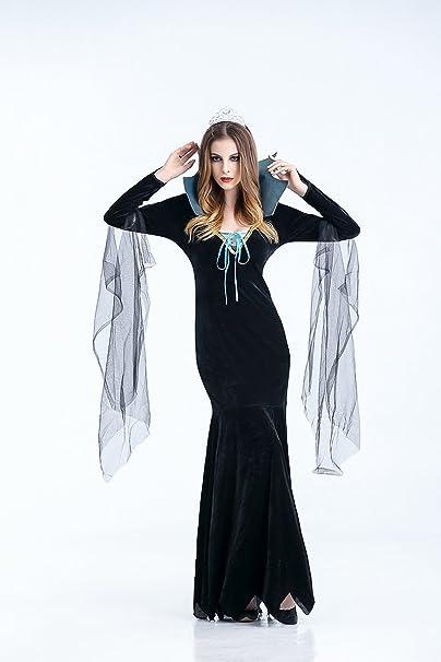 Ruanyi Disfraz de fantasma femenino disfraz de vampiro Zombie ...
