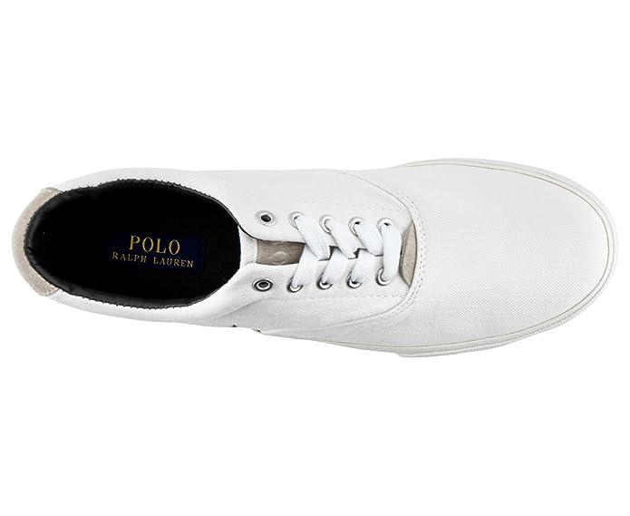 Coton Lauren 9 Polo Vaughn Ralph Basket Sergé43 Euuk Sneaker En XPiukZ