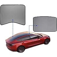 Tesla Model 3 Glass Roof Mesh Sunshade/Overhead Roof Sunshade Auto Sunshade, Custom-Fit Roof Window Sunshades Compatible…