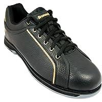 Brunswick Zapatillas de Bolera para Hombre Charger Black/Oro
