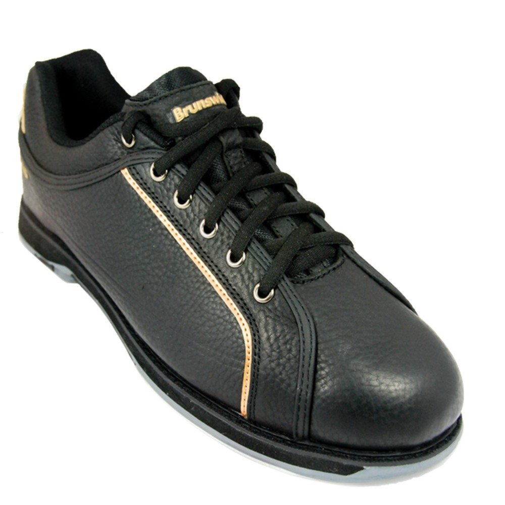 Herren Bowlingschuhe Brunswick CHARGER black/gold M-007