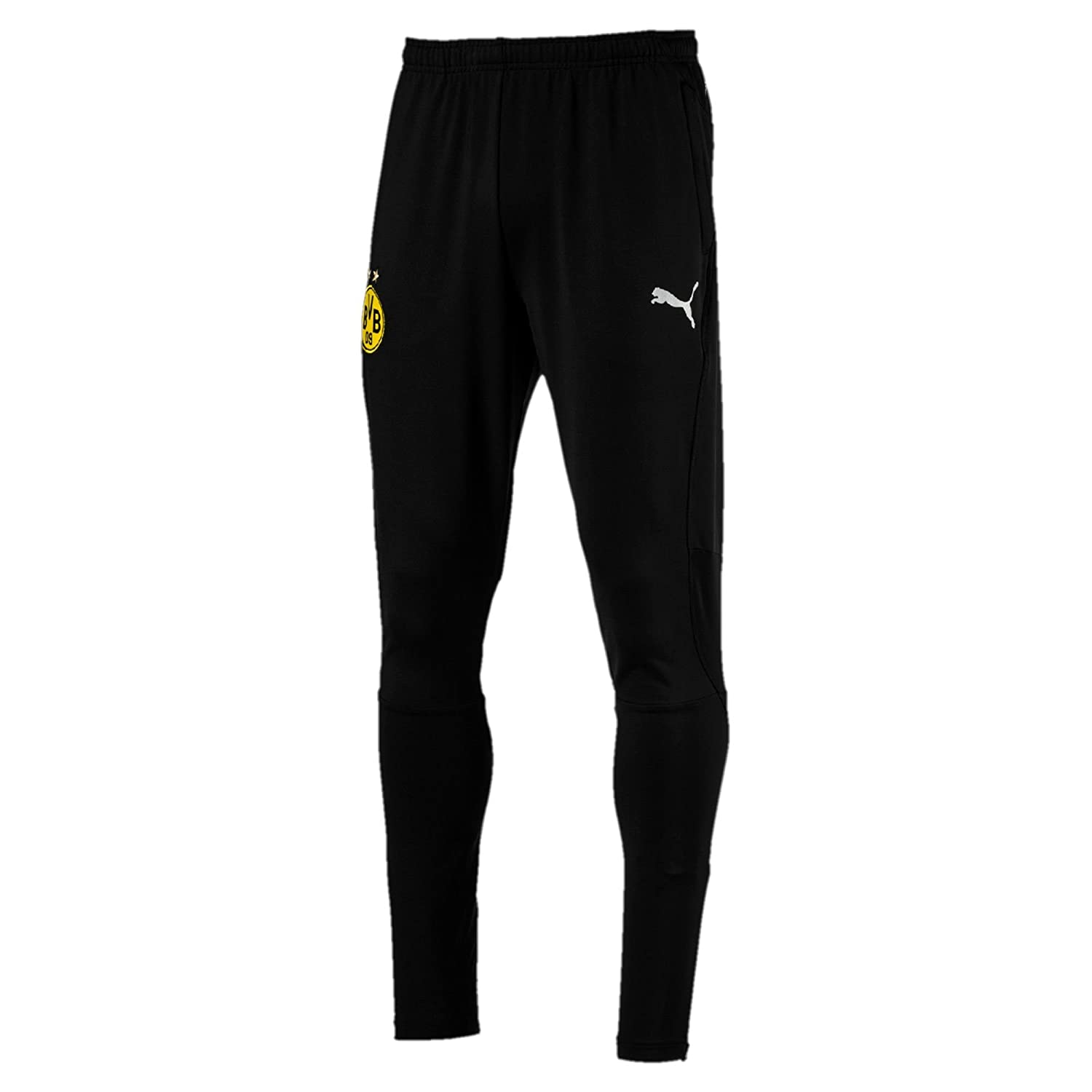 Puma Herren BVB Training Pants Tapered Pockets with Zippers Hose 753494