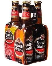 Cerveza Estrella Galicia Doce Pack De 330 ml C/U