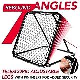 Franklin Sports Basketball Pass Back Rebounder Net