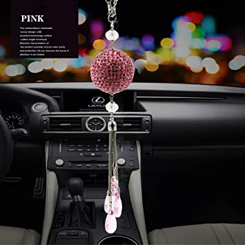 Blingbling Crystal Ball Car Hanging Ornaments Charms 30mm Crystals Hanging Prisms Decorative Home wedding Christmas Tree Decoration