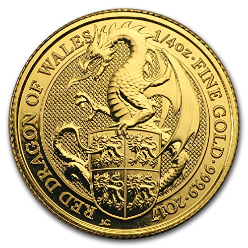 2017 UK Great Britain 1/4 oz Gold Queen
