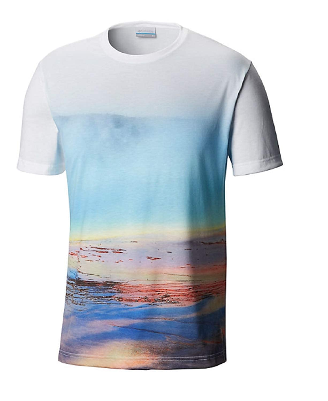 Cool gris, Mineral L Columbia 1840991 CSC Destination T-Shirt pour Homme