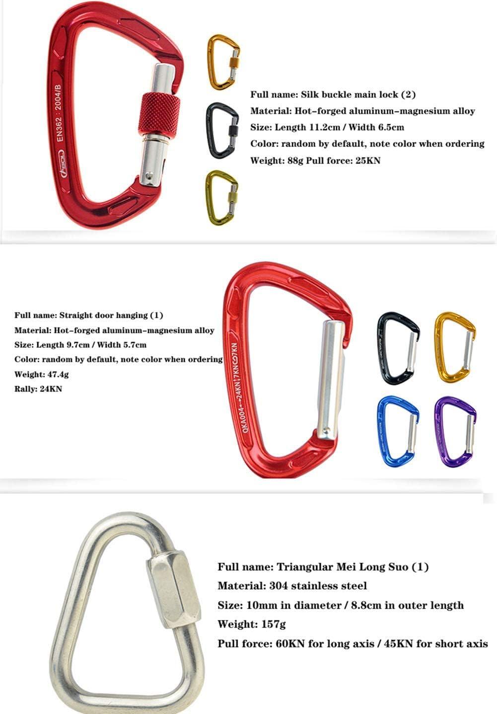 LSHUNYDE Cuerda de seguridad 10M / 20M / 30M Equipo de ...