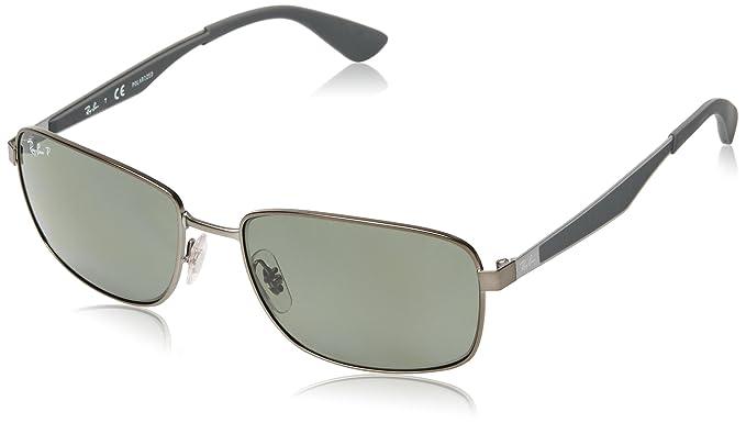 Ray-Ban Gafas de sol RB3529 MATTE GUNMETAL, 58