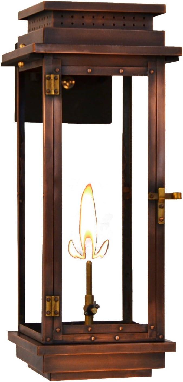 """The CopperSmith Contempo 22"""" Gas Lantern CO24-Gas"""