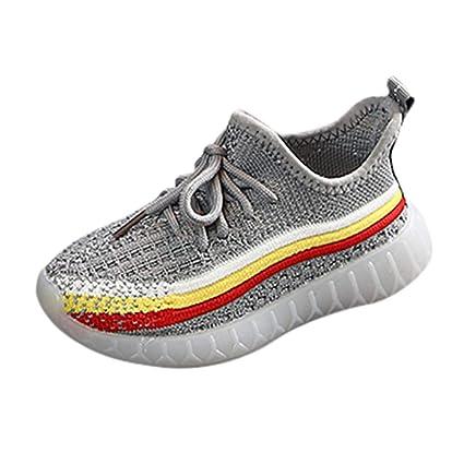 Amazon.com: MIS1950s - Zapatillas de punto suave para bebé o ...