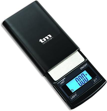Tm Electron TMPBS002 Báscula Digital de precisión de Bolsillo con Capacidad máxima 100 g, autoapagado y Auto Cero balanza: Amazon.es: Hogar