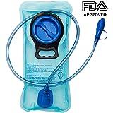 Artisanates Hydration Bladder, 2 Liter Water Reservoir, Water Bladder, Hydration Pack Bladder, FDA Approved, Tasteless and BPA-Free, Large Opening