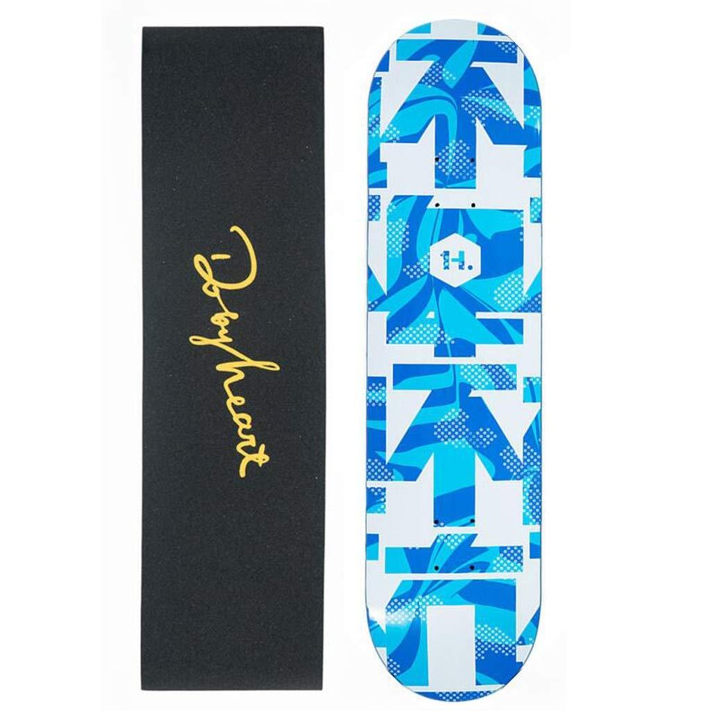 今季一番 HBJP B スケートボードの男の子と女の子の初心者はストリートダブルアップスケートボードプロのスケートボード滑らかなスタイルの複数の選択肢を磨きます スケートボード (色 (色 : A) B07PRDYBNC : B B, 和歌山県有田市:7201cb43 --- quiltersinfo.yarnslave.com