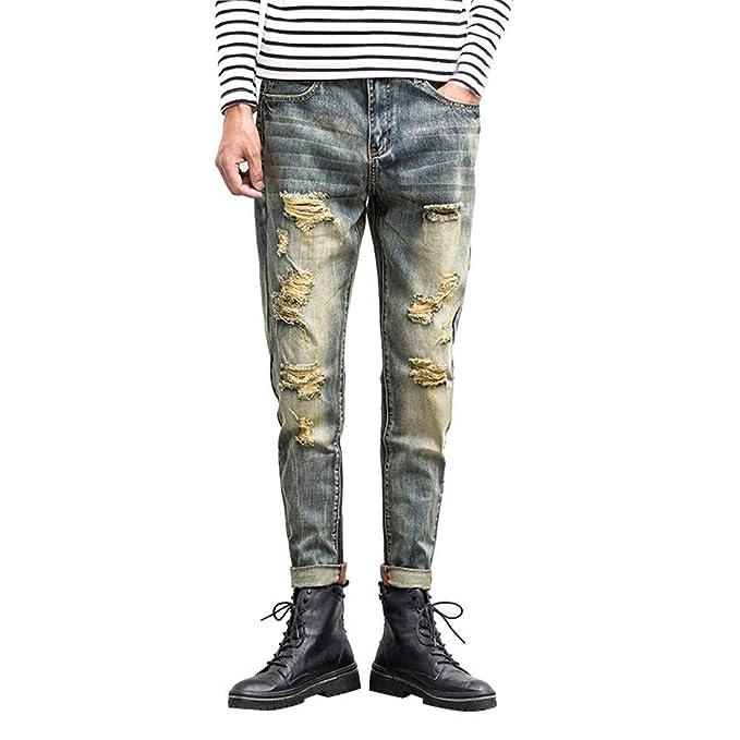 FELZ Jeans para Hombre,Pantalones Vaqueros Hombre,Pantalones ...
