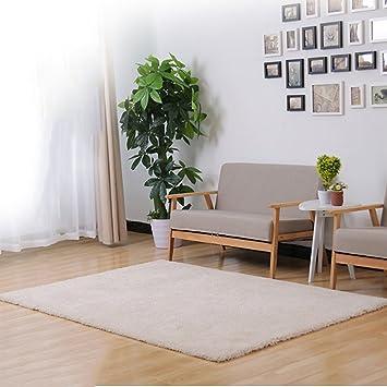 Amazon.de: YLMDC Komfortable Interieur moderne flauschigen Teppich ...