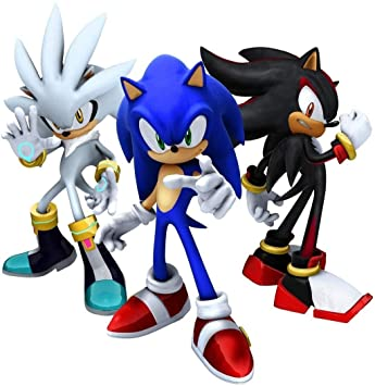 Sonic The Hedgehog 3 Silver The Hedghog Shadow The Hedgehog Edible