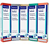CET Virbac Toothpaste for Dogs Cats 2.5 oz (70 gm), Flavor: Beef