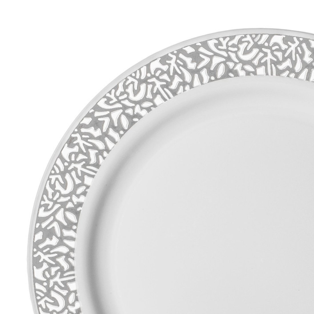 PARTY DISPOSABLE 36 PC DINNERWARE SETDINNER //SALAD PLATESMarble Collection
