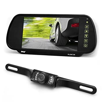 Pyle Backup Camera >> Amazon Com Pyle Backup Car Camera Rear View Mirror Monitor